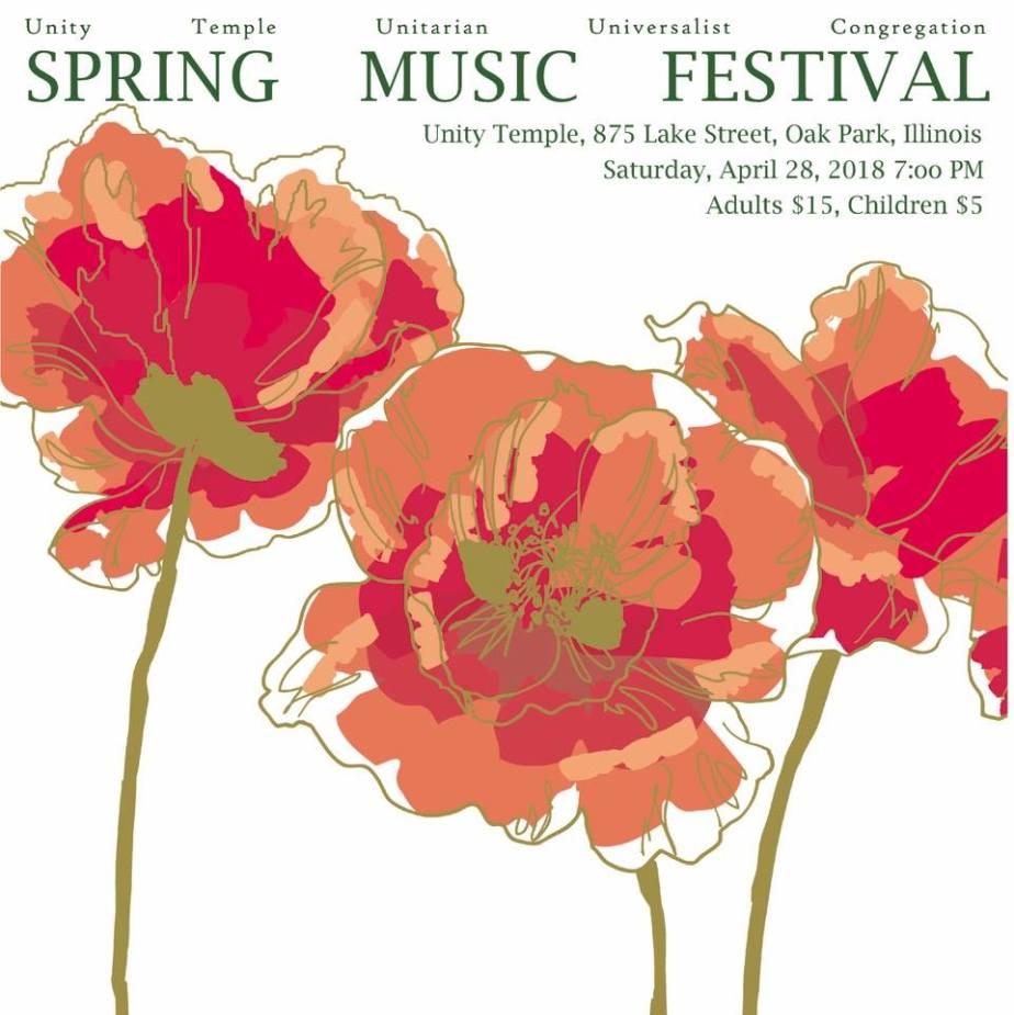 spring music fest poster 2018